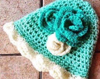 1920's Crocheted Cloche for Baby Girl