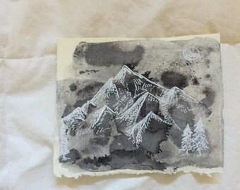Simple Mountain Range