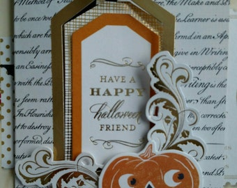 Set of two Halloween cards!