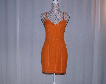 Orange dress by NicoNico