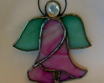 Angel Flower in Stained Glass