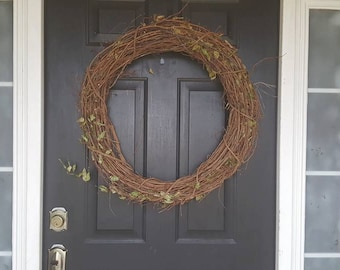 """24"""" All natural Grapevine Wreaths"""