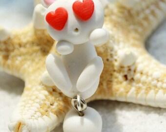 Bunny in love earrings (1 pair)