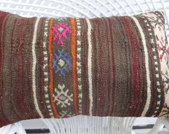 boho furniture embroider pillow rustic pillow 16x24 turkish kilim pillow cushion cover 40 x 60cm cushion cover floral pillow bohemian 248