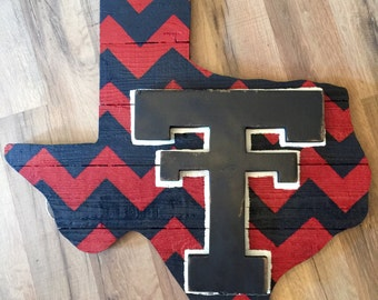 Texas Tech wall/door board