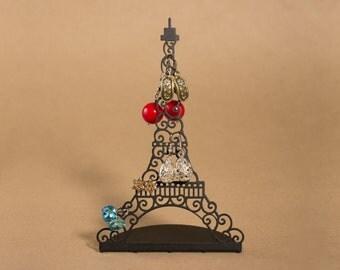 "Small jewelry storage and organizer ""Paris"". Маленькая стойка для украшений ""Париж""."