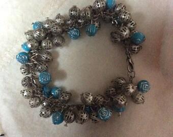 Home made Cluster bracelet