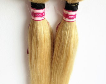 Hair weft stripes, 100 g, approximately 50 cm Brazilian 100% human hair top quality