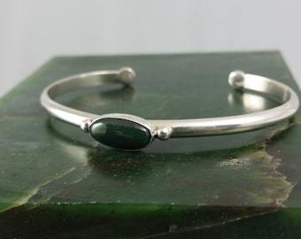Alaska Jade cuff bracelet