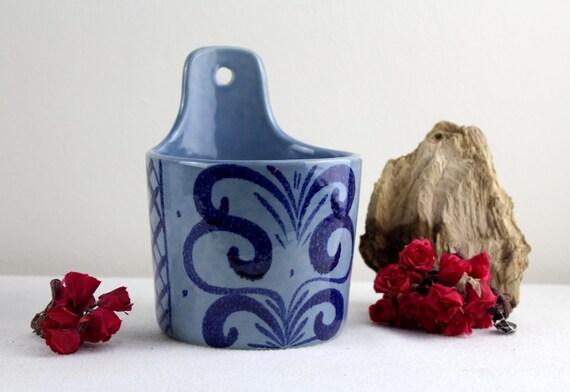 West german vase blumentopf fat lava wand von for Blumentopf wand