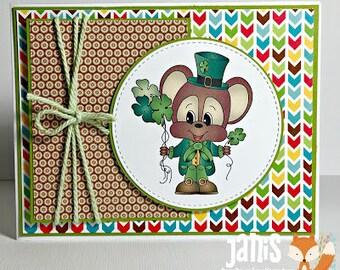 Handmade St. Patrick's Day Card