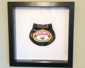 Fused Glass Marmite Art