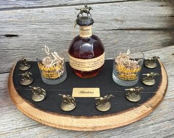Blanton's Bourbon Half Barrel Head Stopper Display