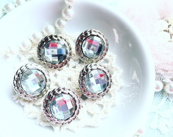 New Rhinestone Buttons/Shabby Chic Buttons/NB0001/Sewing/Craft/Scrapbooking/Handmade Flower/Fabric Journal/Altered Bag,Box