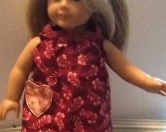 "18""American Girl doll top and bloomers"