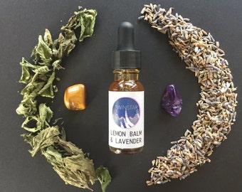 Lavender Lemon Balm Elixir