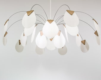 luminaire suspension chandelier design Corolle