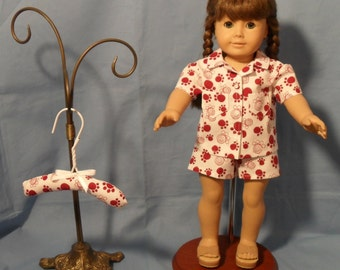 18 Inch doll,  T-Shirt and Shorts Outfit