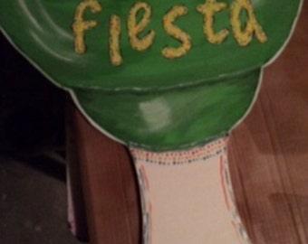 Margarita fiesta door hanger