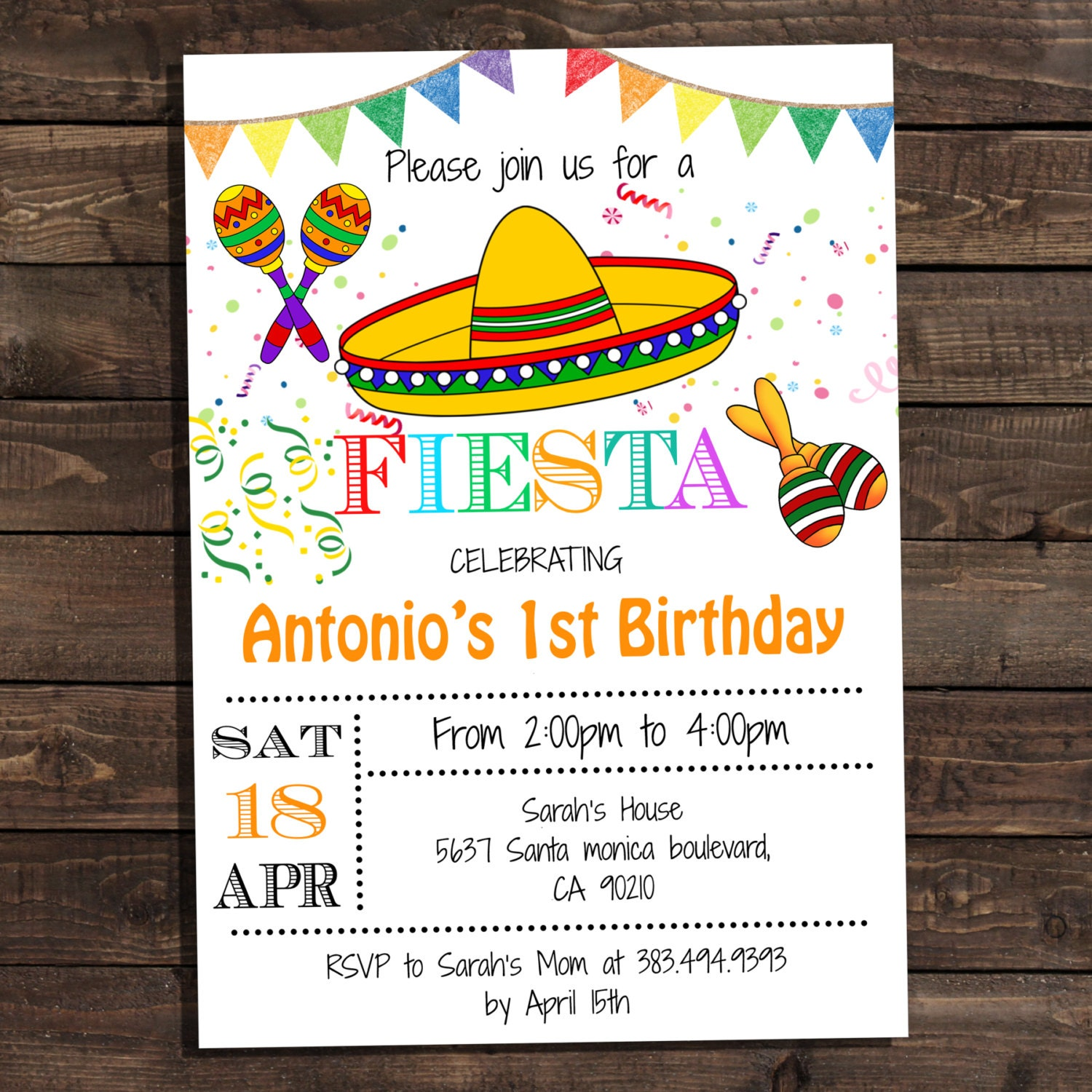 Massif image for free printable fiesta invitations