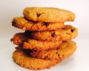 Paleo Chocolate Chip Cookies, Vegan Chocolate Chip Cookies, Gluten Free Cookies, Egg Free