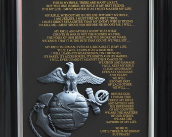 Creed of the United States Marine Corps