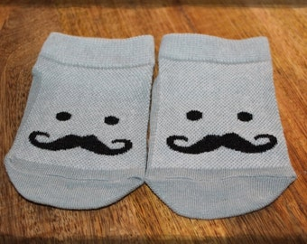 Cute Baby Mustache Socks
