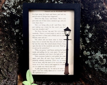 The Lamppost - Chronicles of Narnia Frame