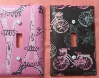 Paris, Bicycle light switch covers