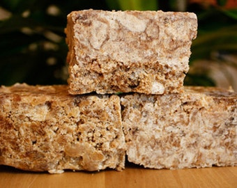 Raw African Black Soap  | Unrefined African Soap from Ghana | 4oz