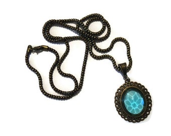 Victorian Blue Necklace