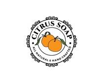 customizable fruit logo, skincare logo, elegant logo, bath beauty logo, juice logo, beauty seal, customizable logo, personalized logo
