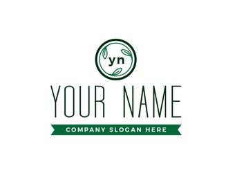 Apothecary style logo, skincare logo, natural logo, customizable logo, personalized logo, product branding, soap logo, cosmetic logo