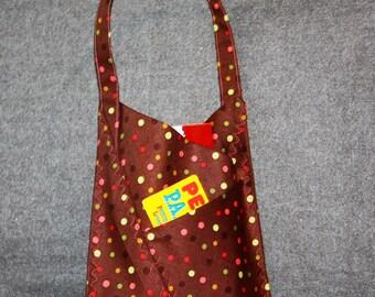 Origami-style Bag (Polka Dots)
