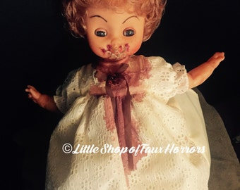 Horror Doll OOAK altered doll creepy halloween scary