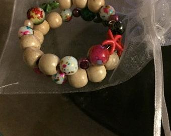 Chunky starfish bracelet