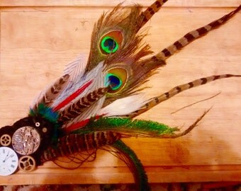 Steam Punk and Feathers