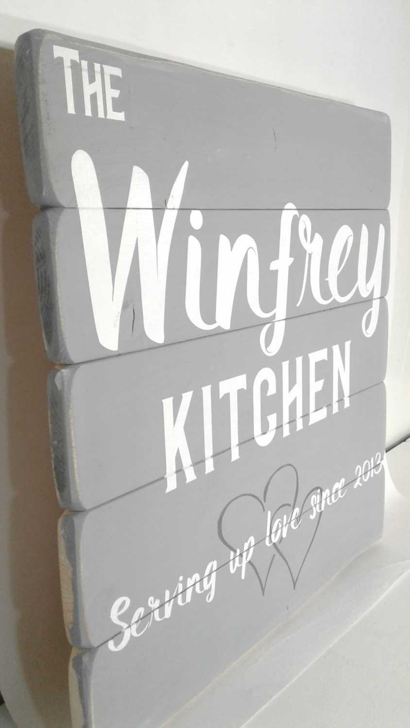 personalized kitchen accessories personalized kitchen signs kitchen decor by winfreyhomedesigns 1471