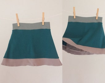 Organic Toddler Skort, size 18-24 months--ready to ship