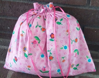 Set of 3 draw string bags