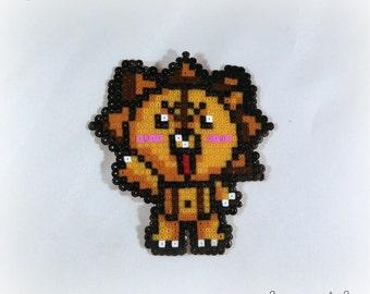 Kon from Bleach keychain