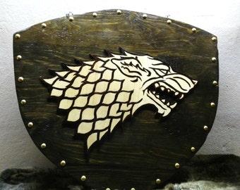 Stark Wooden Plaque Game of Thrones