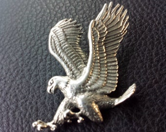 Sterling Silver .925 Eagle Pendant