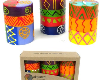 Hand Painted Candles by Nobunto