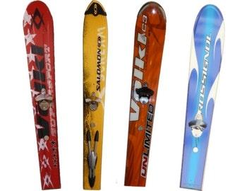 Ski Tip Wall-Mount Bottle Opener