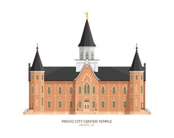 Provo City Center Temple (digital file)