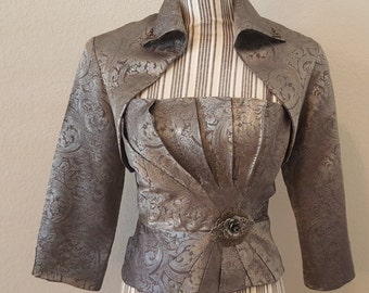 Victorian Style Top and Short Jacket