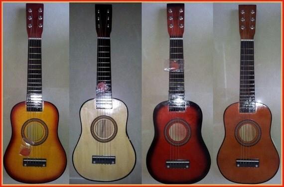 acoustic 6 string kids beginner guitar 60cm 24 inches. Black Bedroom Furniture Sets. Home Design Ideas
