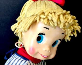 Sweet 1961 Mattel Sister Belle Talking Doll