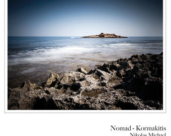 Nomad - Kormakitis ( Cape, Kyrenia, island, color, fine art photography, limited edition, Cyprus, Mediterranean, wall print, wall decor )